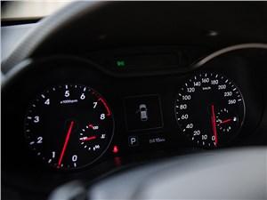 Hyundai Veloster 2016 приборная панель