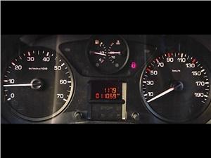 Fiat Scudo Cargo 2014 приборная панель