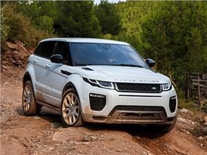 В РФ объявлен старт продаж рестайлингового Range Rover Evoque