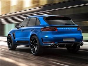 TopCar / Porsche Macan вид сзади