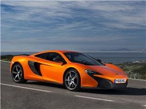 Предпросмотр mclaren 650s 2014 вид спереди оранжевый