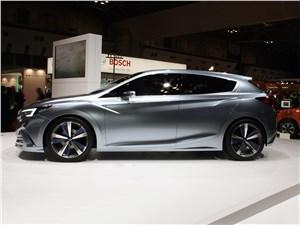 Предпросмотр subaru impreza 5-door concept 2015 вид сбоку