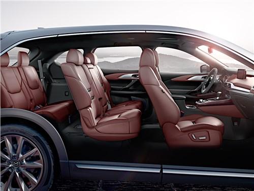 Mazda CX-9 2016 салон