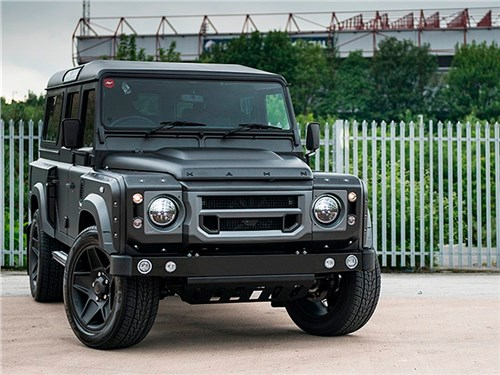 Новость про Land Rover Defender 90 - Kahn Design Land Rover Defender The End