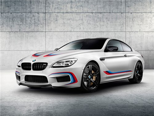 Новость про BMW M6 - BMW M6 Competition Edition 2016