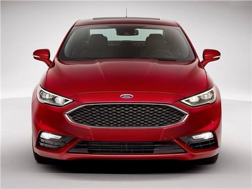 Предпросмотр ford fusion 2016 вид спереди