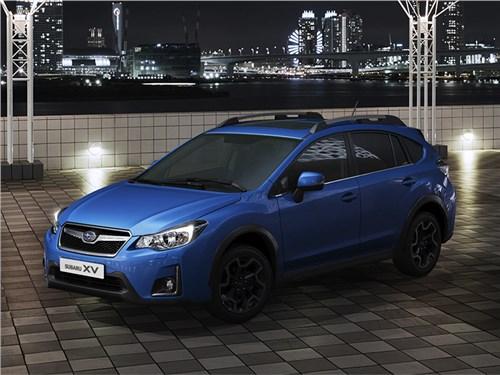 Subaru опубликовала полный прайс-лист на рестайлинговый кроссовер XV