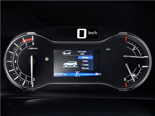 Honda Pilot 2016 приборная панель