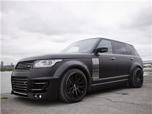 Lumma Design / Range Rover Long вид спереди