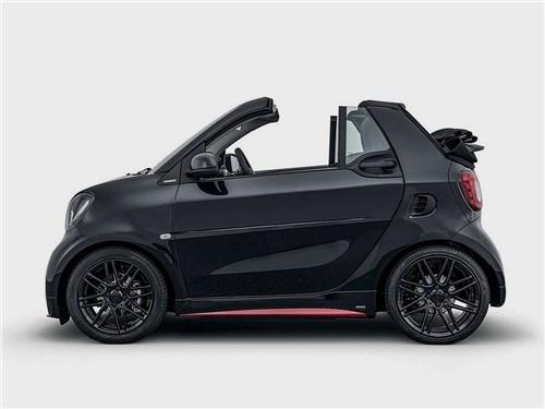Brabus   Smart ForTwo Cabrio вид сбоку