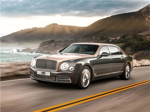 Новый Bentley Mulsanne - Bentley Mulsanne EWB 2017 Лайнер заказывали?