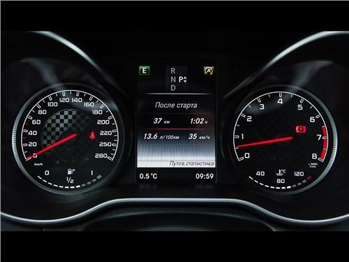 Mercedes-Benz C450 AMG 2016 приборная панель