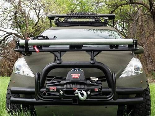 Toyota Prius превратилась в машину для охотников