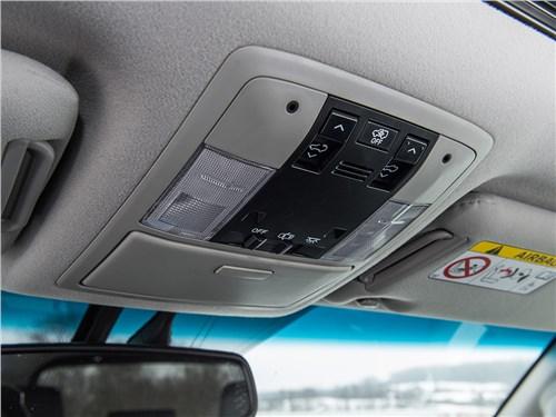 Toyota Land Cruiser Prado 2016 интерьер