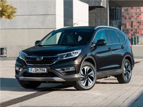Honda CR-V нового модельного года уже готовится к премьере