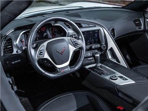 Предпросмотр chevrolet corvette z06 2015 салон