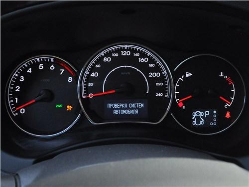 Renault Koleos 2014 приборная панель