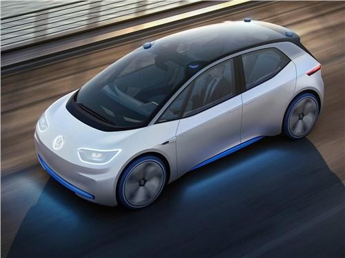 Предпросмотр volkswagen i.d. concept 2016 вид сверху