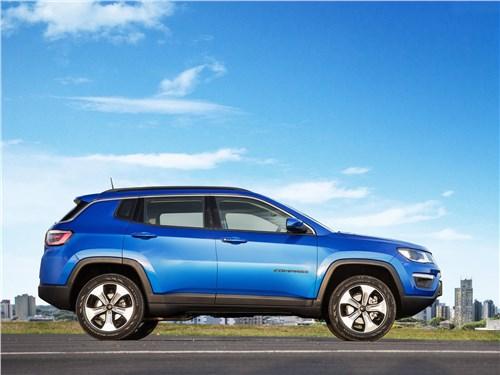 Предпросмотр jeep compass 2017 вид сбоку