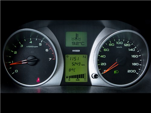Lada Granta Liftback 2014 приборная панель