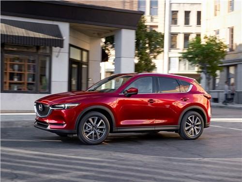 Mazda CX-5 2017 вид сбоку