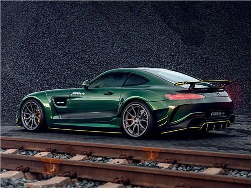 Fostla   Mercedes-AMG GT R вид сзади