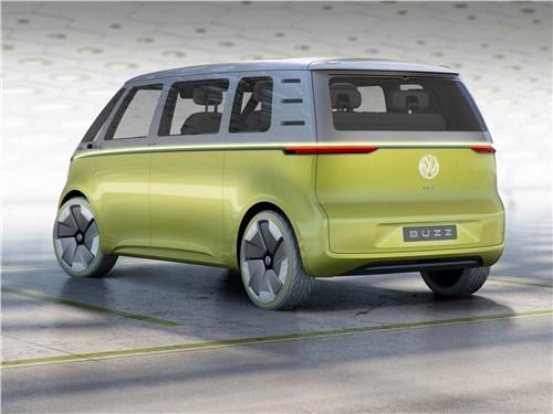 Предпросмотр volkswagen id buzz concept 2017 вид сбоку сзади