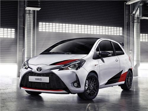 Новость про Toyota Yaris - Toyota Yaris GRMN 2017