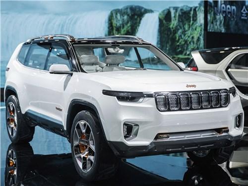 Предпросмотр jeep yuntu concept 2017 вид спереди