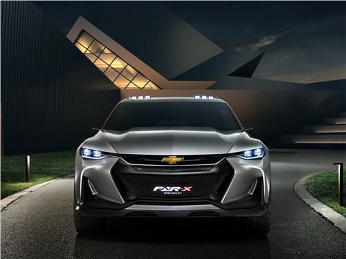 Предпросмотр chevrolet fnr-x concept 2017 вид спереди