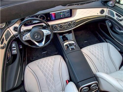 Mercedes-Benz S-Class 2018 салон