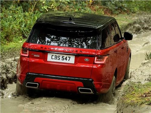 Предпросмотр land rover range rover sport 2017 вид сзади