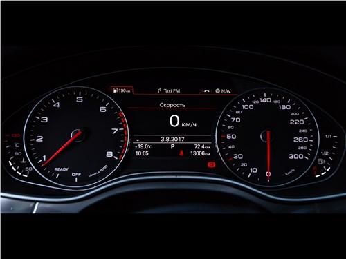 Audi A6 2015 приборная панель