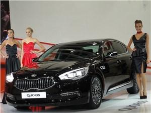 Kia назвала цену седану Quoris: 2 млн рублей