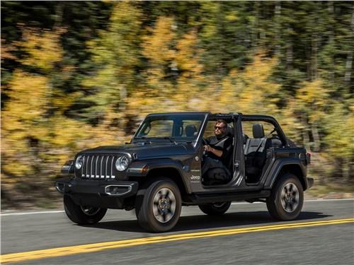Предпросмотр jeep wrangler unlimited 2018 вид спереди