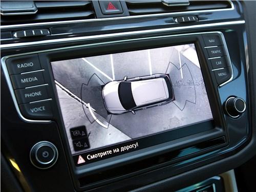 Предпросмотр volkswagen tiguan 2017 центральная консоль