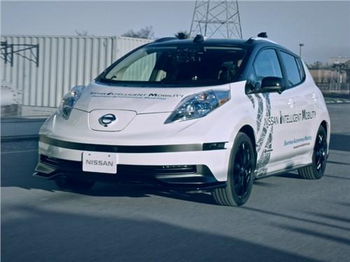 Nissan добавит «второго пилота» своим автономным автомобилям