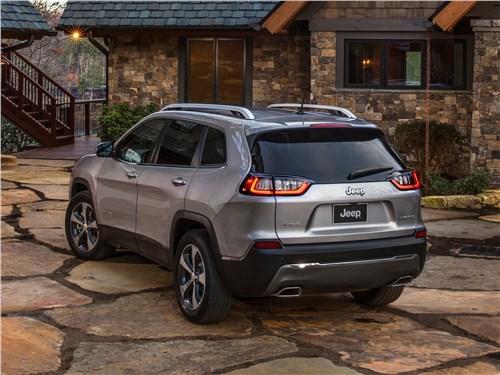 Предпросмотр jeep cherokee 2019 вид сзади