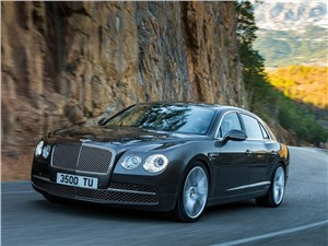 Flying Spur – самый мощный Bentley в истории
