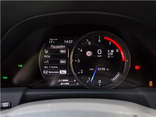Предпросмотр lexus ls 500 f sport 2018 приборная панель