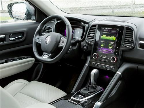 Renault Koleos 2017 салон