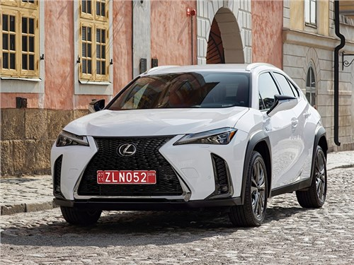 Новость про Lexus - Lexus UX 2019