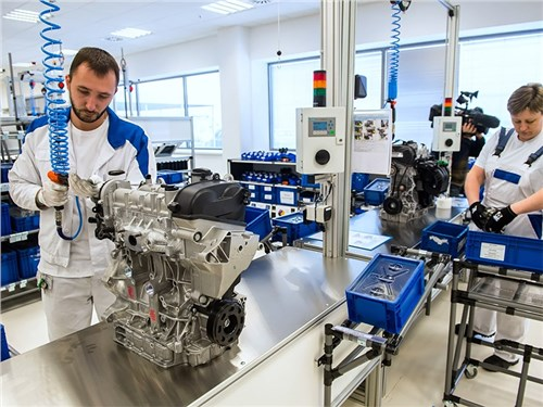 Новость про Volkswagen - завод volkswagen в калуге