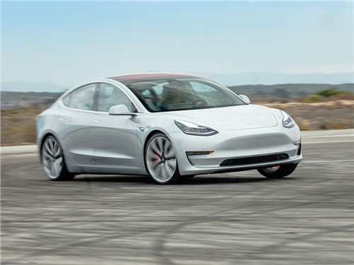 Новость про Tesla Motors Model 3 - Tesla Model 3 Performance