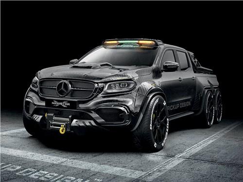 Carlex Design   Mercedes-Benz X-Class вид спереди