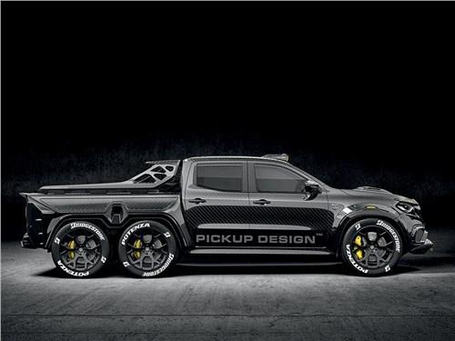 Carlex Design   Mercedes-Benz X-Class вид сбоку
