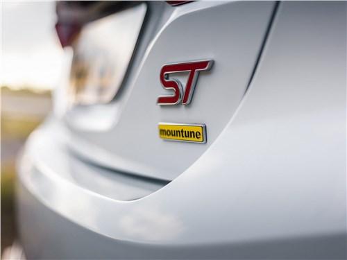 Mountune | Ford Fiesta ST вид сзади