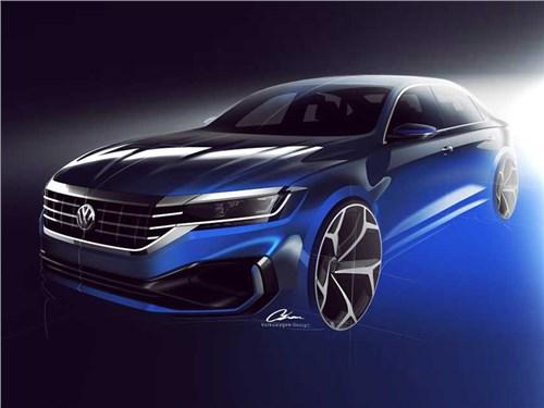 Новость про Volkswagen Passat - Новый старый Passat