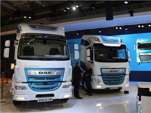 DAF LF Electric, CF Electric, CF Hybrid