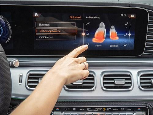 Mercedes-Benz GLE 2020 монитор